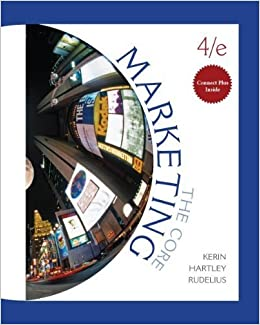 Marketing the core 4th fourth edition by kerin roger hartley marketing the core 4th fourth edition by kerin roger hartley steven rudelius william published by mcgraw hillirwin 2010 books amazon fandeluxe Choice Image