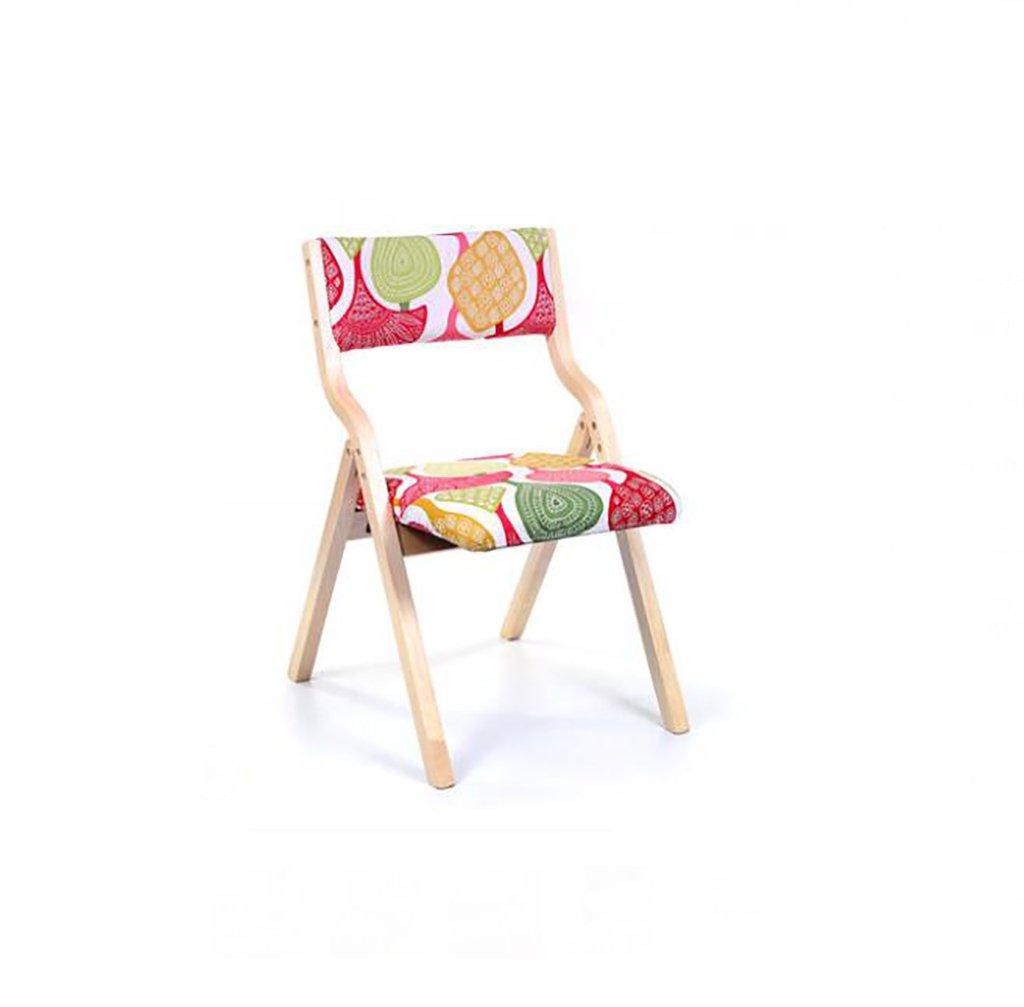moderne pliable simple bois QL Maison Chair massif chaise en T1FKJlc