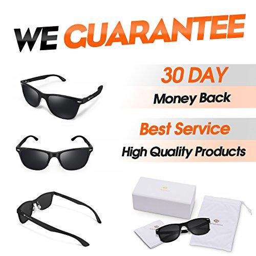 f2539c8c96 Polarized Wayfarer Sunglasses for Women Mens Classic Vintage - Import It All