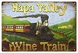 Napa Valley California Wine Train Aluminum Reproduction Sign offers