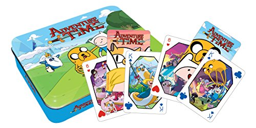 Aquarius Adventure Time Playing Card Gift Tin