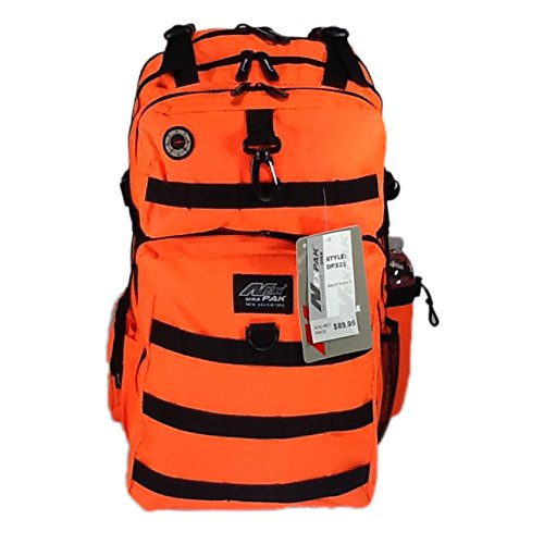21 inch 2000 cu in Great Hunting Camping Hiking Backpack DP321 NO Orange