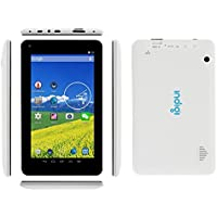 Indigi Dual-Core 7.0 Tablet PC Android 4.2.2 Capacitive WiFi HDMI Luxury Leather Back