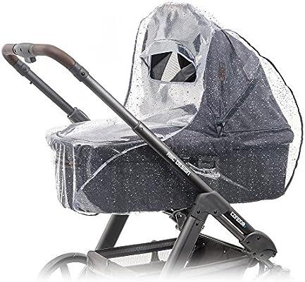 Protector de lluvia universal para cochecitos / capazos de bebé (p. ej. Bugaboo
