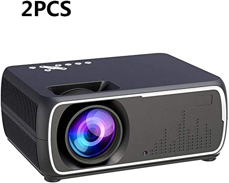 ZUKN Mini Proyector 2200 Lúmenes Full HD 1080P Video Home Cinema ...