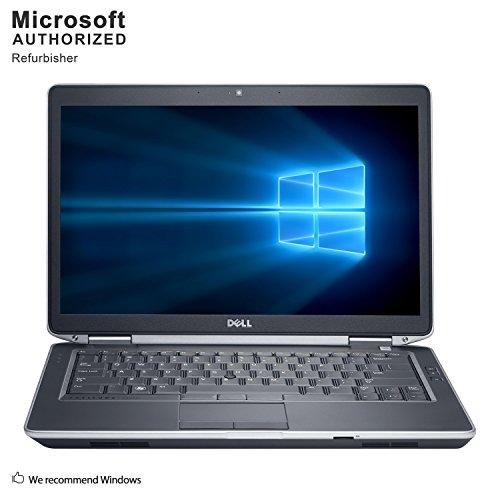 - 2019 Dell Latitude E6430 Laptop PC, Intel Core I5, 4G DDR3, 500G, DVD,VGA, HDMI, USB 3.0, WiFi, 14INCH, Win10 64 Bit-Multi-Language(CI5)(Certified Refurbished)