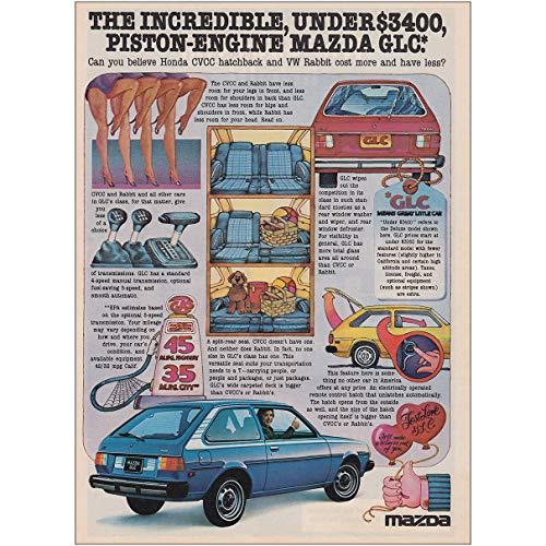 1978 Mazda Glc Engine - RelicPaper 1978 Mazda GLC: Incredible Under 3400 Piston Engine, Mazda Print Ad