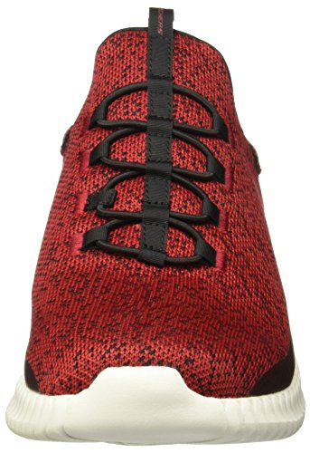 Men's Black Skechers Elite Muzzin Red Flex An00gxwz