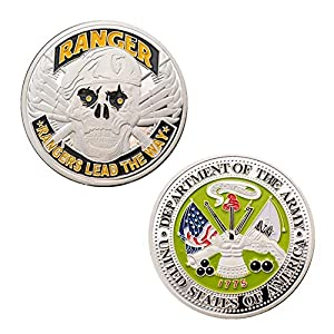 Army Death Smiles Challenge Coin! U.S. Army Challenge Coin from bestcoin