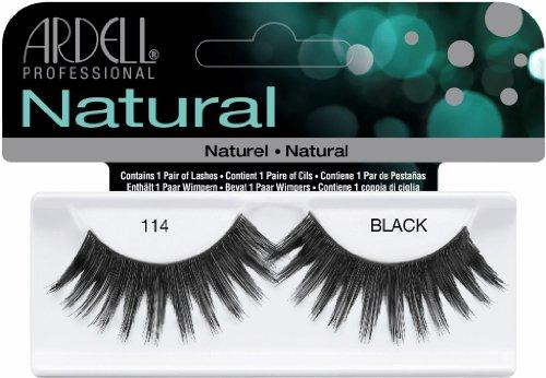 Fashion Ardell (Ardell Fashion Lashes False Eyelashes - #114 Black (Pack of 4))