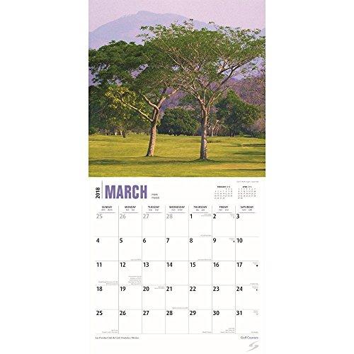 Golf Courses 2018 Wall Calendar Photo #2