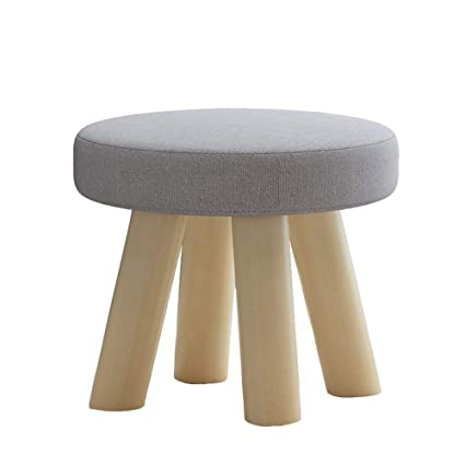 Amazon.com: LiRuiPengDZ GWDJ Stool, Solid Wood Footstool ...