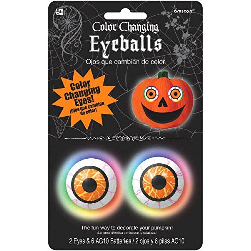 (Color Changing Pumpkin Eyeballs)
