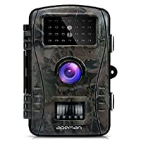 "APEMAN Trail Camera Full HD 2.4"" LCD Game&Hunting Camera with 940nm Upgrading IR LEDs Night Vision up to 65ft/20m IP54 Spray Water Protected Design"