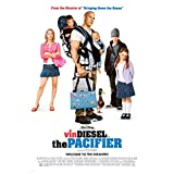 The Pacifier Movie Promo with Vin Diesel and Brittany Snow 8 x 10 Inch Photo