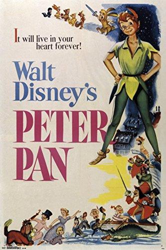 """Trends International 24x36 Peter Pan-One Sheet Premium Wall Poster, 22.375"""" x 34"""""""