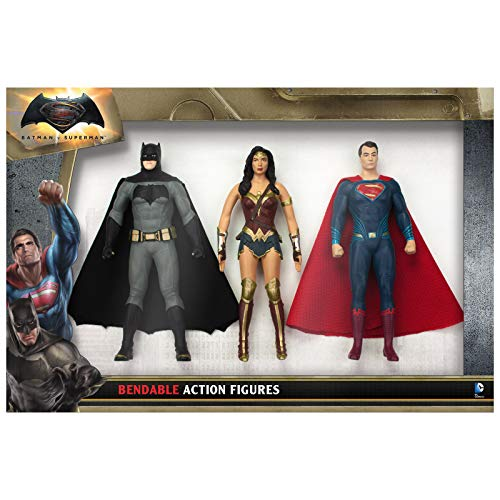NJ Croce Batman Vs Superman Action Figure Boxed Set, Multicolor, 8