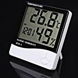 UPH Temperature & Humidity Meter - HTC-1 Thermo & Hydrometer-White