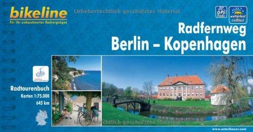 bikeline Radtourenbuch: Radfernweg Berlin-Kopenhagen, wetterfest/reißfest