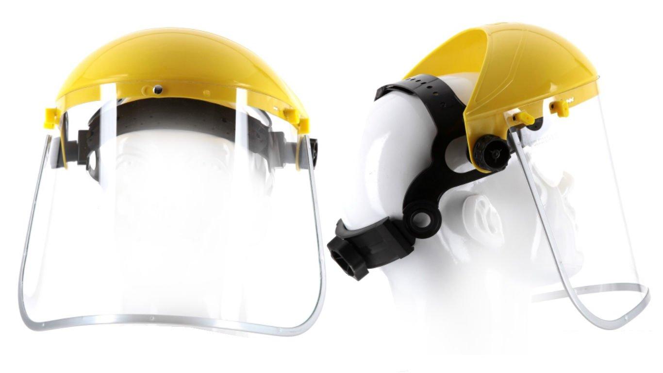 Augenschutz Gesichtsschutz Schutzschirm Schutzmaske Kunststoffvisier (OTY) Rawpol