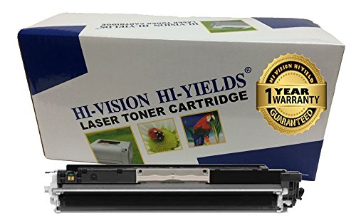 HI-VISION HI-YIELDS Compatible Toner Cartridge Replacement for Hewlett-Packard (HP) 126A CE310A (Black)
