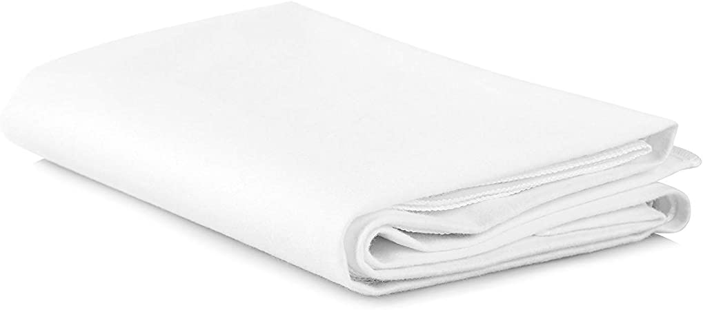 UK Care Direct 100/% Cotton Hospital Quality Flat Sheet//Top Sheet in Double
