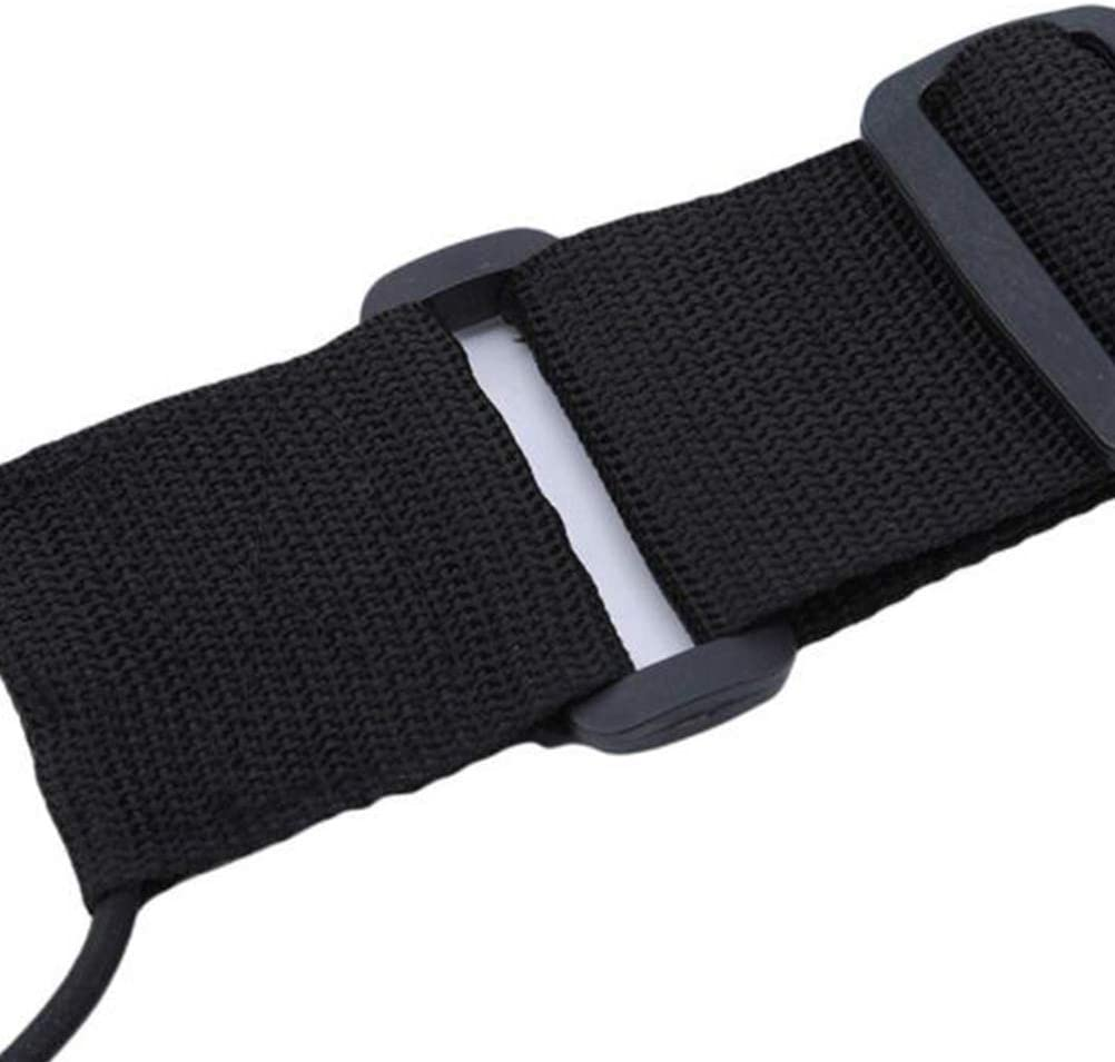 LIOOBO 2pcs Travel Luggage Strap Adjustable Security Bag Belt for Suitcase Packing Products Black