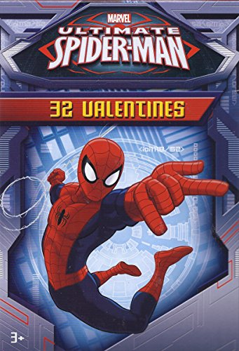 Marvel Spider-Man 32 Valentines Cards
