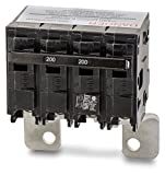 Siemens MBK200 200-Amp Main Circuit Breaker for Use in EQ Type Load Centers Made Prior to 2002