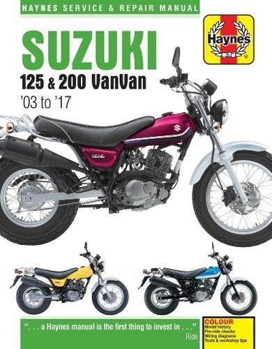 Download Suzuki RV125 & 200 Van Van Service and Repair Manual 2003-2016 pdf epub