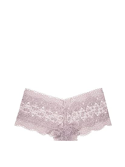 dbf2d7dc85 Victoria s Secret Body by Victoria The Lace Sexy Shortie Panty Pebble  Violet (Small)