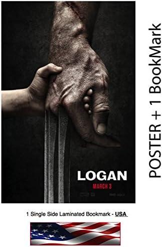 Amazon Com Logan 2017 Movie Poster Size 12 X 18 Hugh Jackman Wolverine 3 Posters Prints