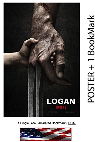 "LOGAN  - Movie Poster, Size: 24 x 36"" : Hugh Jackman"