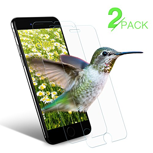 iPhone 7 plus Screen Protector aiMaKE Premium Tempered Glass for iPhone 7 plus Screen Protector [0.25 mm - 9H hardness]