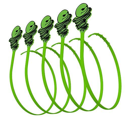 Green Gobbler Hair Grabber Drain Tool | Hair Clog Remover