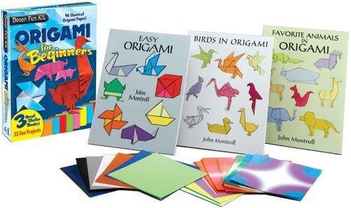 Origami Fun Kit for Beginners (Dover Fun Kits) by Dover (2003-06-11) (Fun Dover Kits)