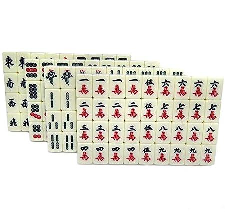 DYXSD Popular Nuevo Mini Mahjong Juego de Mesa Familiar Chino ...
