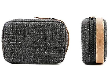 ec3d1624e baseus small black hand bag for men & women: Amazon.ae