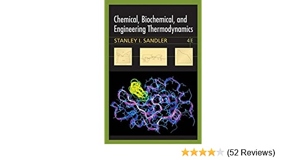 Chemical and Engineering Thermodynamics Biochemical