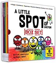 A Little SPOT of Emotion 8 Book Box Set (Books 1-8: Anger, Anxiety, Peaceful, Happiness, Sadness, Confidence,