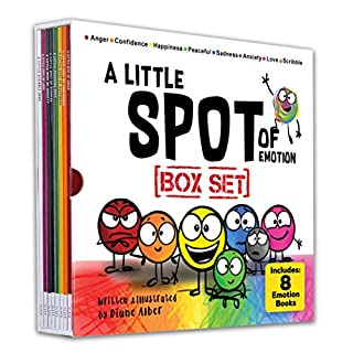 A Little SPOT of Emotion Box Set (8 Books: Anger, Anxiety, Peaceful, Happiness, Sadness, Confidence, Love, & Scribble Emotion)