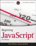 Javascript, Paul Wilton and Jeremy McPeak, 0470525932