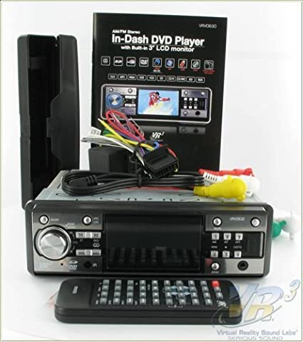 VR3 In-Dash DVD Player VRVD630 on stereo wiring adapter, stereo wiring kit, stereo cable, seat belt harness, auto stereo harness,