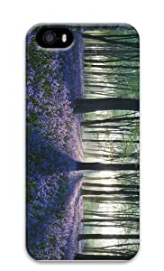 rugged case Flowers in Forest PC Case for iphone 5/5S