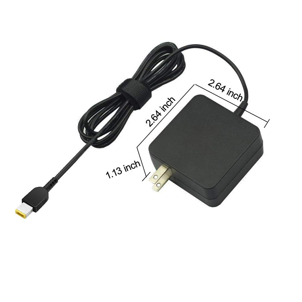 AC Charger for Lenovo ThinkPad S5 Yoga 15 Laptop - Power Supply Adapter Cord
