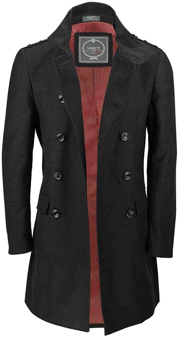 best top 10 winter wool coat men trench list and get free