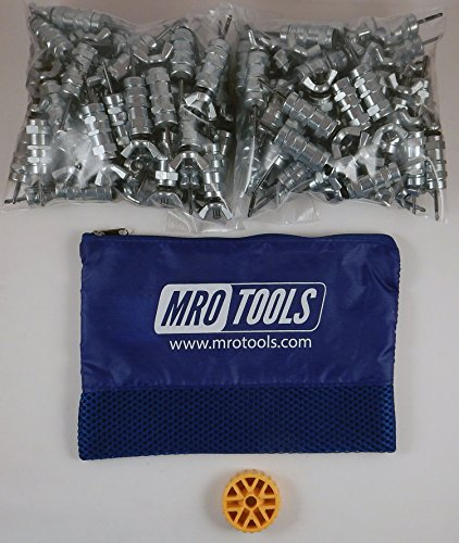 100 3/32 Standard Wing-Nut Cleco Fasteners with HBHT Tool & Bag (KWN1S100-3/32) by MRO Tools Cleco Fasteners