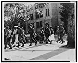 Photo: Armed Troops,African American Students,Central High School,Little Rock,Arkansas
