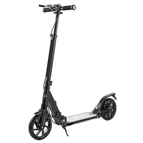 ZAQI Patinetes Desplazamientos en Scooters con Freno de Mano ...