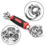 Pulsing Multifunction tiger wrench Socket Spanner Wrench, 48 in 1 is Great for Furniture Assembly, Home and Auto Repair